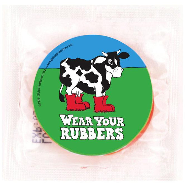 Wear Your Rubbers Condoms,  Bag of 50