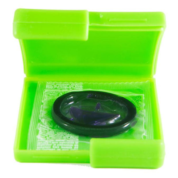 Green Contour Condom Compacts,  Bag of 10