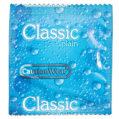 Caution Wear Classic Condoms, Case of 1000