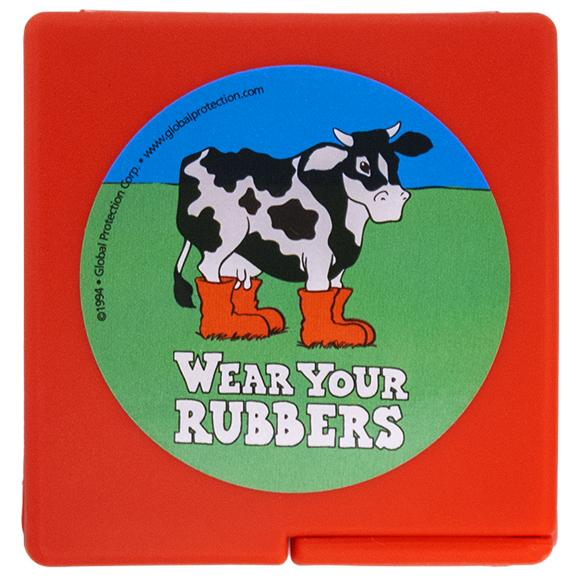 Wear Your Rubbers Compacts, Bag of 10