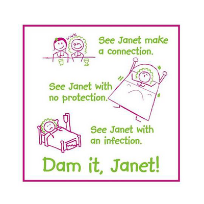 Dam it Janet (Jane and Janet),  Bag of 10