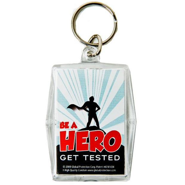 Be a Hero Condom Keypers,  Bag of 10