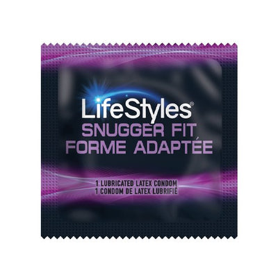 LifeStyles Snugger Fit Condoms, Case of 1,000