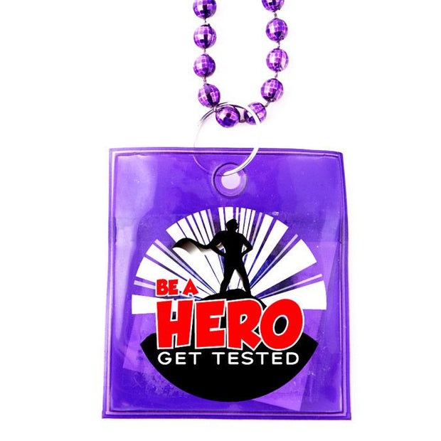 Be a Hero Condoms Beads,  Box of 36