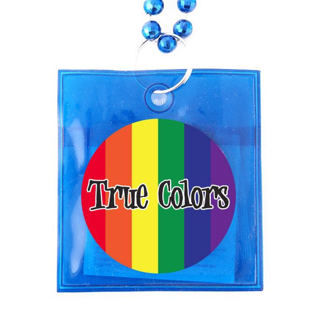 True Colors Condoms Beads,  Box of 36