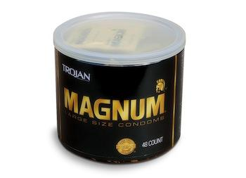 Trojan Magnum Condoms, Bowl of 48