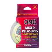 ONE® Mixed Pleasures™ 3-Packs, Case of 144