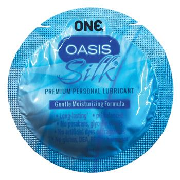 ONE® Oasis Silk®, Hybrid Lubricant, 3ml Sachets, Case of 1,000