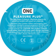 ONE® Pleasure Plus®,  Case of 500