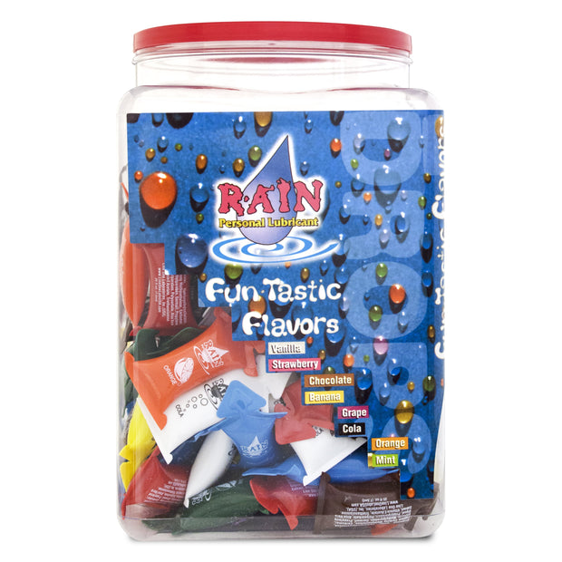 Rain Flavors 10ml Pillows,  Bowl of 144