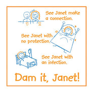 Dam it Janet (Dick and Jane),  Bag of 10