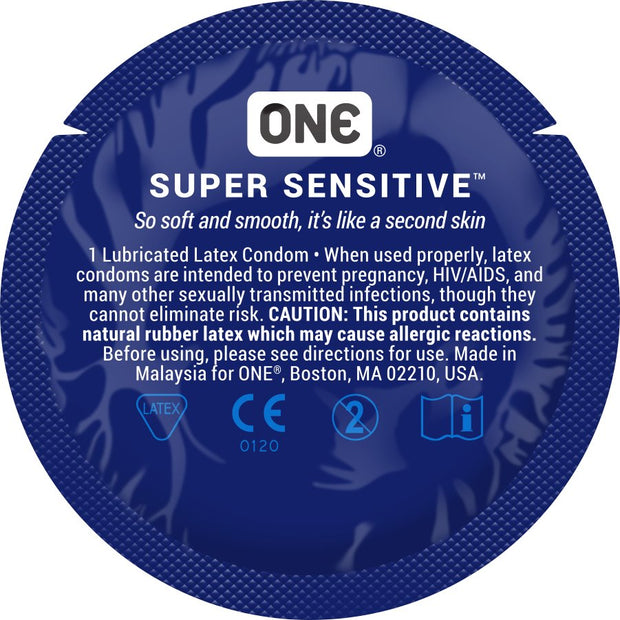 ONE® Super Sensitive™, Contest Collection, Case of 1000