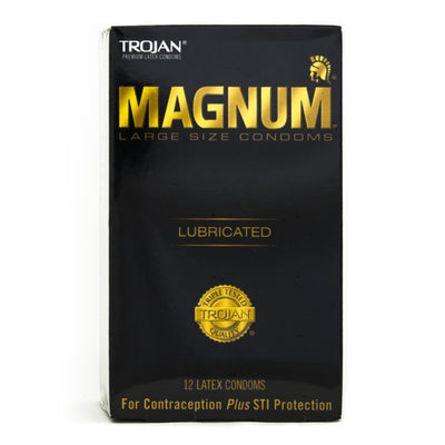 Trojan Magnum 12pks,  Bundle of 4