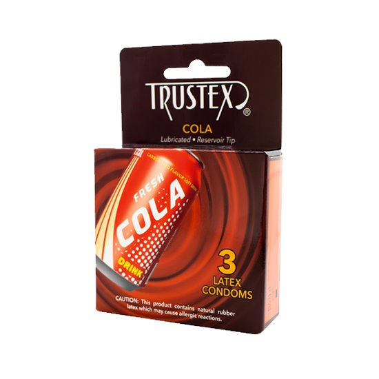 Trustex Cola 3-pack, Case of 72