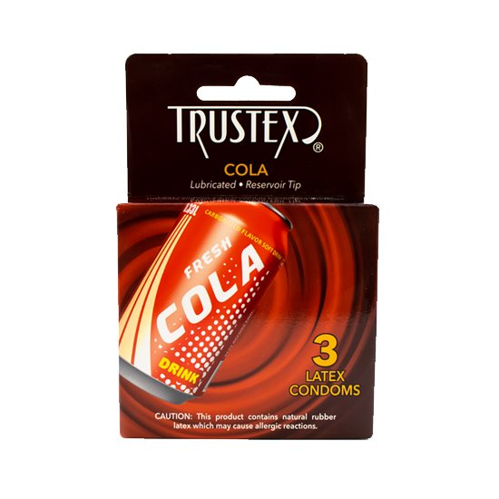 Trustex Cola 3-pack, bundle of 12