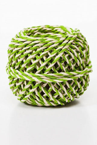 Secret Twine, Lime/White