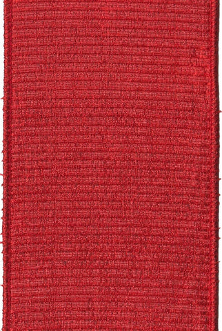 Pleated Lame Red