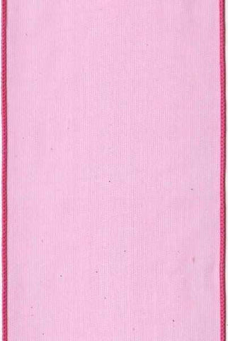 4 Inch x 10 Yards organza sheer, hot pink