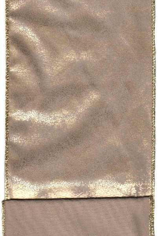 Faux Worn Leather Gold