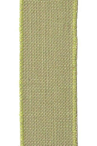 Burlap, Bright Green...Designed By D.Stevens
