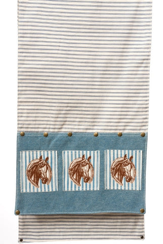 Denim Runner, Horse Patch...Designed By D.Stevens