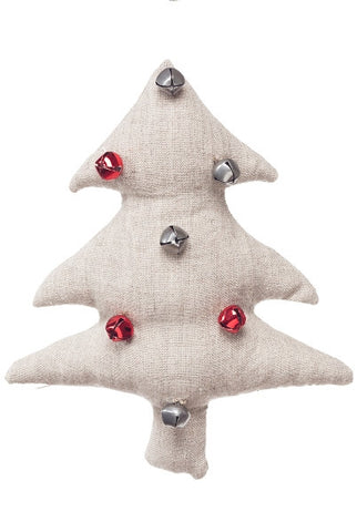 Bell Tree Linen Ornament...Designed By D.Stevens