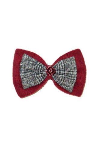 Bow Tie Christmas Ornament With Clip...Designed By D.Stevens