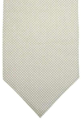Linen Polka Dot Runner, Natural/White...Designed By D.Stevens