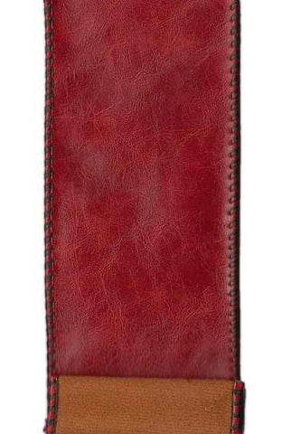Faux Leather, Dark Red