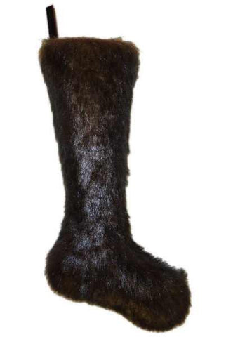 Faux Fur Pvc Stocking, Mink D Stevens Exclusive Design, By Donna Stevens