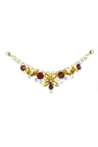 Wine Collar, Gold,Amber,Clear