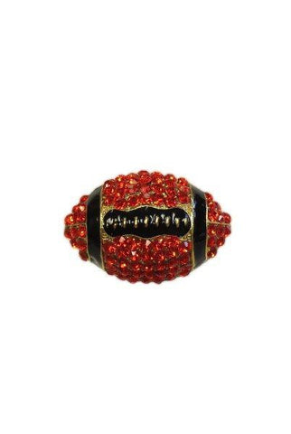 Crystal Football, Red/Black/Gold