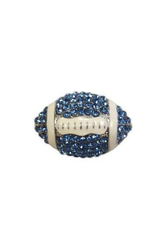 Crystal Football, Blue,White,Silver