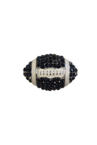 Crystal Football, Navy Blue,White,Silver
