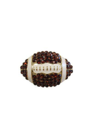 Crystal Football, Copper/White/Gold