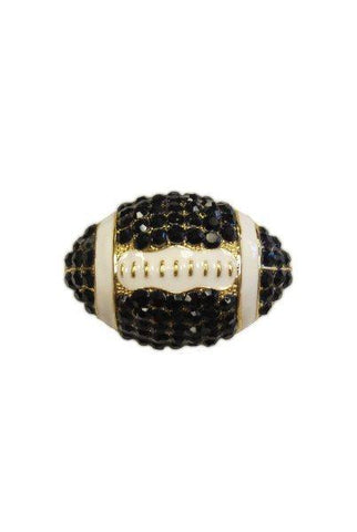 Crystal Football, Black,White,Gold