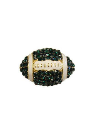 Crystal Football, Emerald,White,Gold