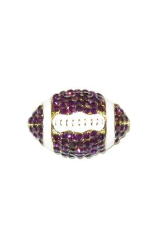 Crystal Football, Purple,White,Gold