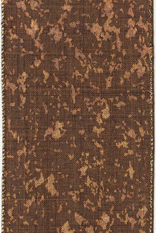 Spotted Linen, Gold/Brown