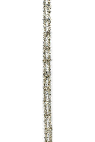 Tinsel Link Stretch, Gold Silver