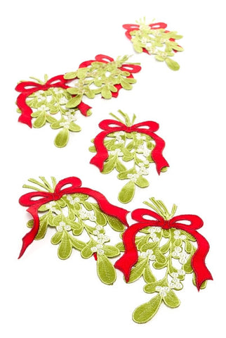 Mistletoe Bough In Bag, 6 Pcs