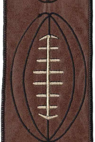 Faux Leather Football, Brown