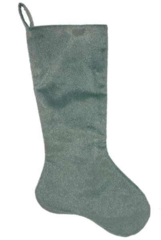 Faux Horsehair Stocking Celadon