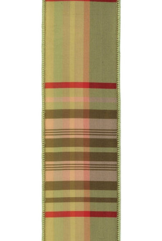 Plaid, Apple,Olive,Red