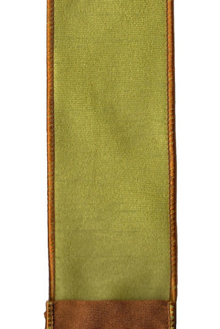Faux Dupioni Double Sided, Green,Brown
