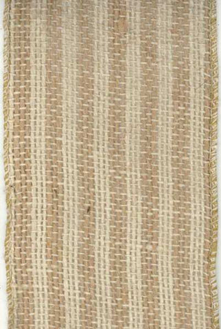 Burlap Striped, Natural Wheat Limited