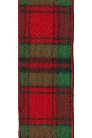 Flannel Fletcher Plaid, Red/Green