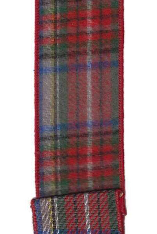 Flannel Plaid Grey Blue Red