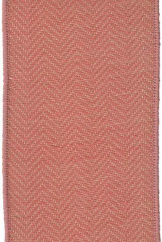 Faux Wool Herringbone Peach