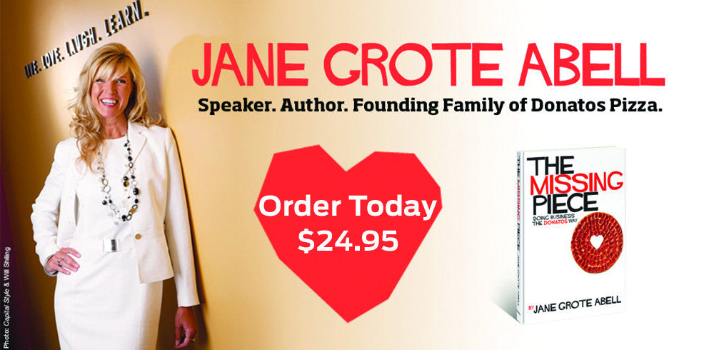 Speaker. Author. Founding Family of Donatos Pizza.